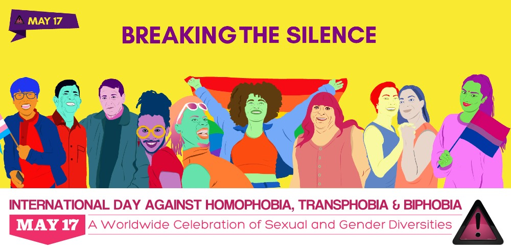 Giornata Internazionale contro Omofobia, Transfobia e Bifobia