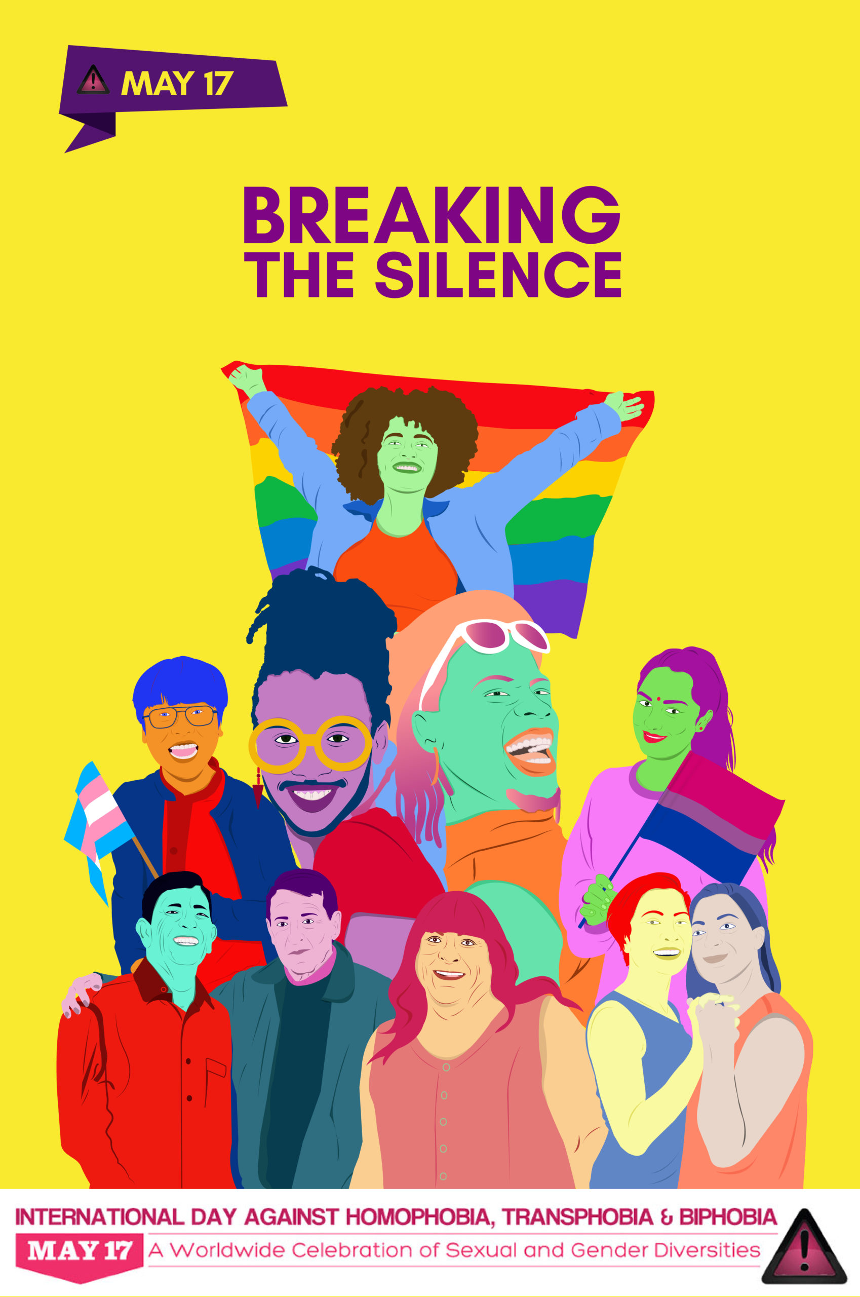 "2020 Theme elected: ""Breaking the Silence"" ~ May17.org"
